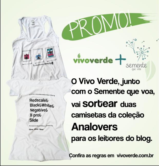 Promoção - Semente que voa e VivoVerde