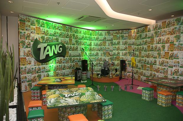 Local da oficina de canções, desenhos e pinturas. #ReciclaréShowTang