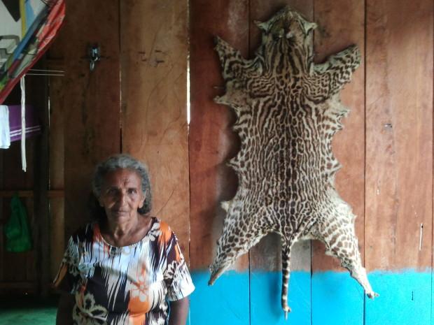Moradora e agricultora de guaraná..