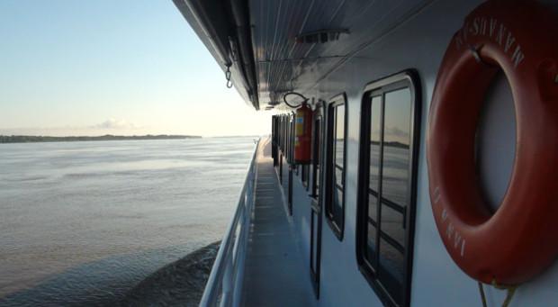 Embarcação Iana I - Foto: Eric Fernandes