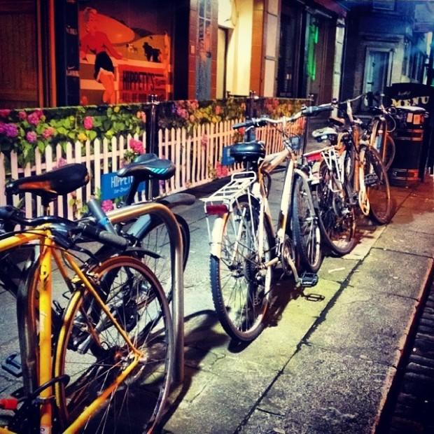 Bicicletas em Dublin/Irlanda - Foto: Daiane Santana