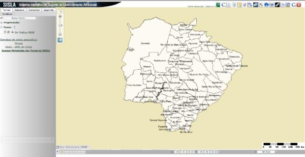 SISLA – Sistema Interativo de Suporte ao Licenciamento Ambiental