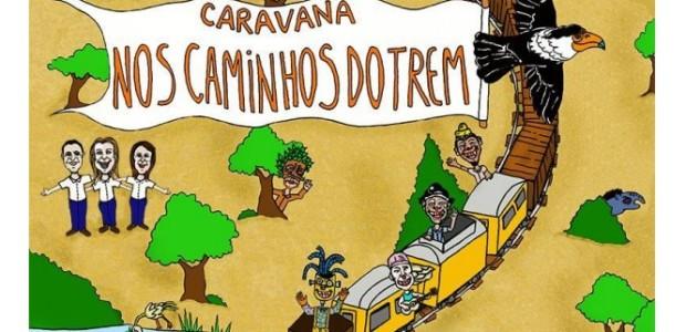 CARAVANA NOS TRILHOS DO TREM - BOCA DO LIXO