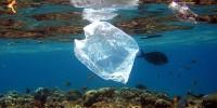 Plásticos no oceano