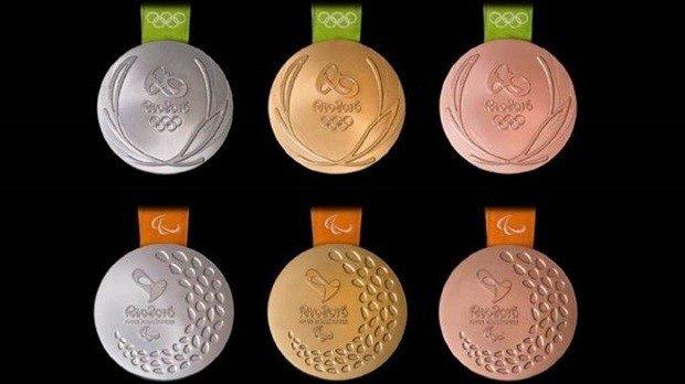 Medalhas #Rio2016