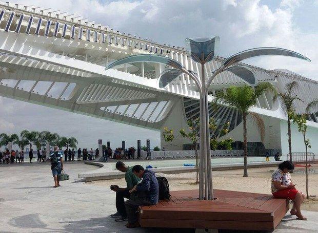OPTree instalado no Museu do Amanhã, no Rio de Janeiro (Foto: Divulgação)
