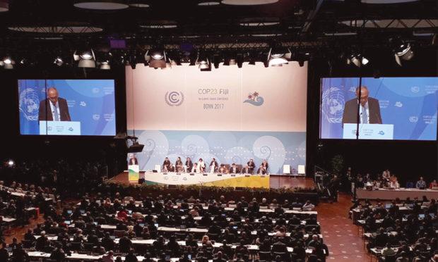 A Conferência Mundial do Clima, a COP 23 ocorre até o dia 17 de novembro e objetivo é avançar na regulamentação do Acordo de Paris, fruto da COP 21 - Foto: Divulgação/COP 23