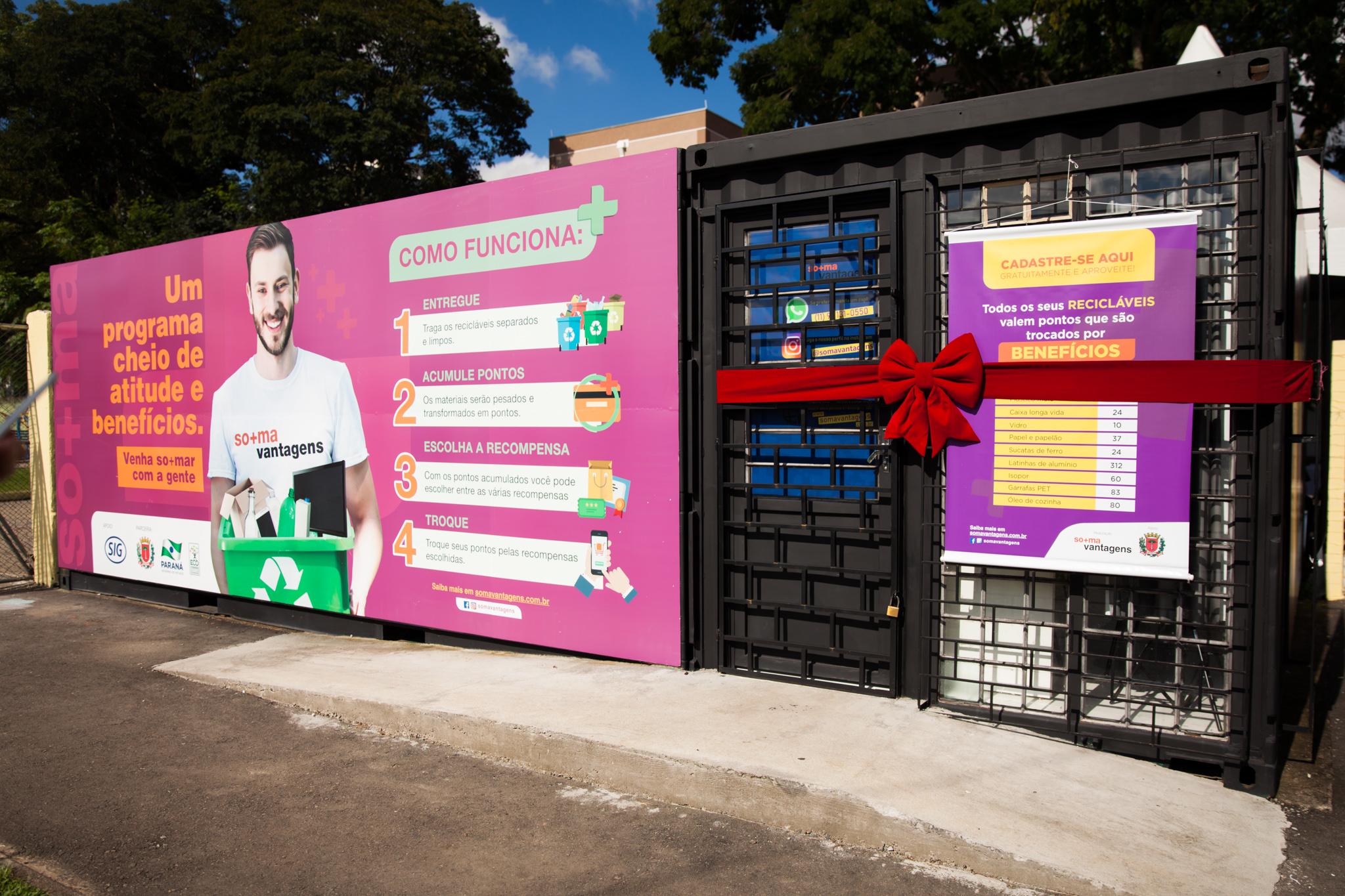 SIG apoia lançamento de programa que transforma material reciclável em benefícios